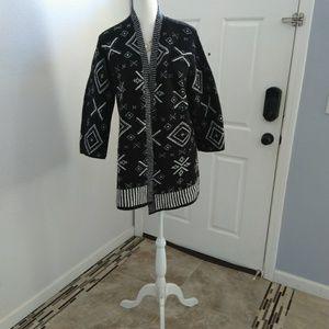 Old Navy black cardigan size medium